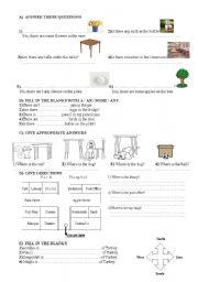 English teaching worksheets: Quizzes