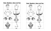 English Worksheets: every body dancing