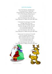 English Worksheets: christmas song