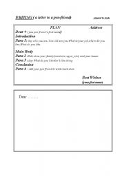 English Worksheets: writing for elementary