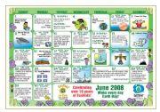 Environment calendar warm-up