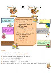 English Worksheets: DRUNK - TIPSY