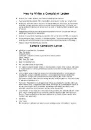 How To Write A Formal Letter Of Complaint Against Teacher. How To ...