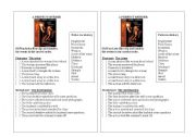 English Worksheets: Movie A Perfect Murder