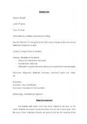 English worksheet: Ecology