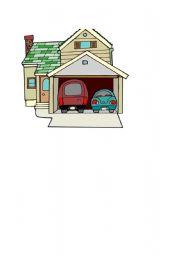 English Worksheets: garage