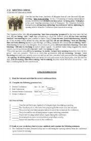 English worksheet: ing forms