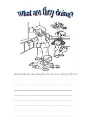 English Worksheets: Describing