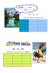 Irregular Verbs - Learning by categorizing - Part 2