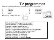 English powerpoint: TV programmes