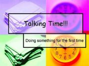 English powerpoint: Conversation time_Doing something for the first time