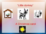 English powerpoint: Little Donkey