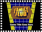 English powerpoint: Family Fortune/Family Feud PPT Game