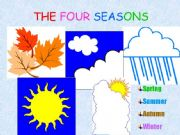 English powerpoint: The 4 Seasons