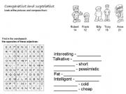 English powerpoint: Comparative and superlative