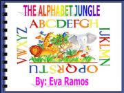 English powerpoint: Alphabet Jungle 1 Letters A-N