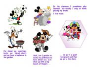 English powerpoint: Disney Routine number 3