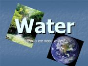 English powerpoint: Water (pollution)