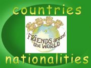 English powerpoint: Countries and nationalities
