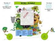 English powerpoint: Word Jungle