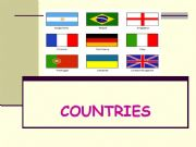English powerpoint: countries