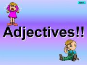 English powerpoint: Adjectives - Kim´s Game
