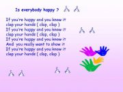 English powerpoint: If you are happy