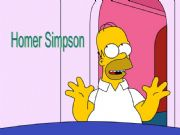English powerpoint: Simple Past-What did Homer Simpson do yesterday? Part 1