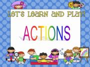 English powerpoint: Actions