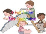English powerpoint: A good teacher