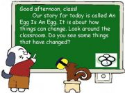 English powerpoint: Story-An Egg is an Egg