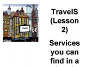 English powerpoint: Services you can find in a hotel