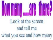 English powerpoint: How many?