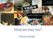 English powerpoint: What are they like?