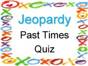 English powerpoint: JEOPARDY GAME