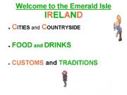 English powerpoint: IRELAND (Complete Introduction)