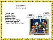 English powerpoint: HALLOWEEN SONGS 2