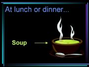 English powerpoint: food 3/4