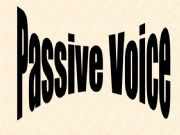 English powerpoint: Passive Voice: Explanation and exercise