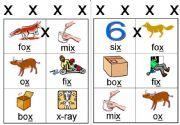 English powerpoint: x workcard