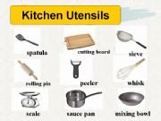 Esl English Powerpoints Kitchen Utensil Ppt