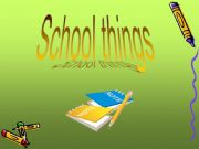 English powerpoint: NEW GAME ON SCHOOL THINGS!!!