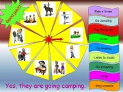 English powerpoint: ANOTHER GAME ON PRESENT CONTINUOUS TENSE