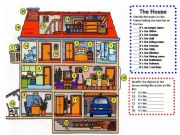English powerpoint: Identify the parts and furniture of the house Listening and speaking
