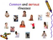 English powerpoint: Common and Serious illnesses