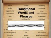 English powerpoint: Transitional Words and Phrases