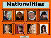English powerpoint: Nationalities game -Part 1