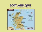 English powerpoint: Animated quiz on Scotland