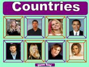 English powerpoint: Countries game