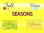 English powerpoint: SEASONS AND MONTHS
